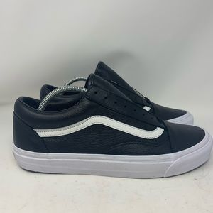 Vans Vault OG Old Skool LX Low Top Black Leather
